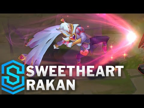 Sweetheart Rakan Skin Spotlight – Pre-Release – League of Legends