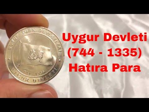 Uygur Devleti Hatıra Para   16 Büyük Türk Devleti