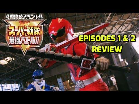 Super Sentai Strongest Battle Episodes 1 & 2 Review