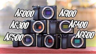 Sony A6000 vs A6100 vs A6300 vs A6400 vs A6500 vs A6600: A Buying Guide