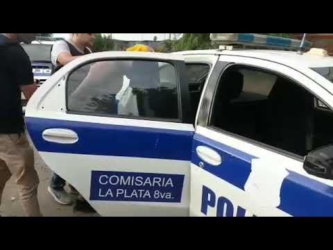 Video. Allanamientos en Villa Ponsati y Berisso por tentativa de homicidio y drogas con resultados positivos