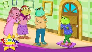 The Little Xanh Frog - bạn đã làm gì? - bài hát tiếng Anh cho trẻ em