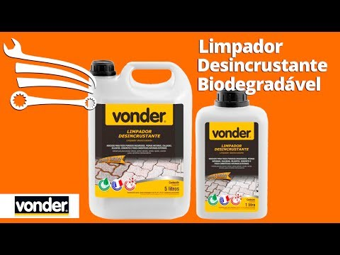 Limpador Desincrustante Biodegradável 5 Litros - Video
