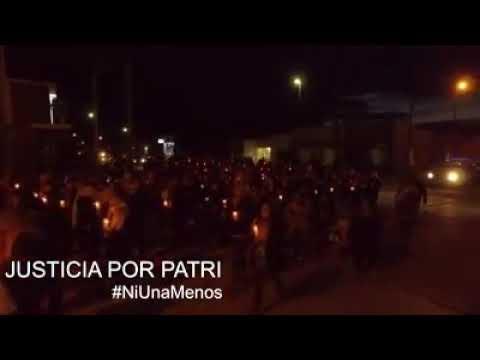 marcha, VILLALONGA, femicidio, PATRICIA ILGNER