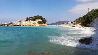 Kokkari Samos never looked like this in May