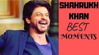 Shah Rukh Khan HILARIOUS interview moments I shahrukh interview shahrukh funny moment anushka sharma
