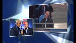 preview picture of video 'MANCHESTER CITY - NAPOLI 1-1 - INTERVISTA AL PRESIDENTE DE LAURENTIIS.wmv'