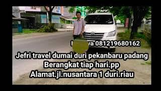 preview picture of video 'Travel duri 081219680162 padang. Berangkat tiap hari buka 24 jam online'