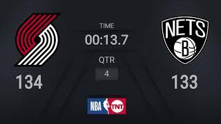DAL@PHX, SAS@UTA, POR@BKN - NBA on TNT Live Scoreboard #WholeNewGame