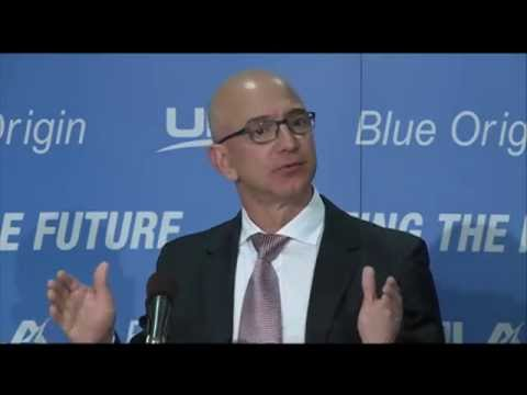 United Launch Alliance and Blue Origin Announce Partnership To Develop New American Rocket Engine
