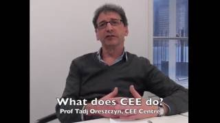 Tadj Oreszczyn explains energy epidemiology