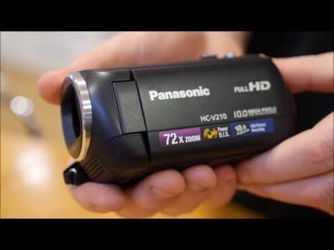 Panasonic HC-V210 Camcorder Overview