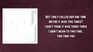 The 1975   TOOTIMETOOTIMETOOTIME (Lyrics)