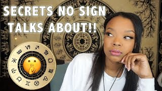 Secrets Each Zodiac Doesn't Want You to Know! (Inner Thoughts) | #7DOZ