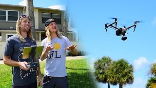DJI Inspire 2 + Zenmuse X5S With NPI Productions! | MicBergsma
