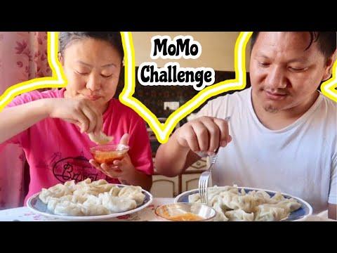 Husband Wife MoMo Challenge / NepaliMom Vlogs