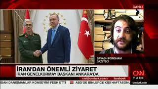 İran Genelkurmay Başkanının Ankara Ziyaretini CnnTürk'e Değerlendirdim