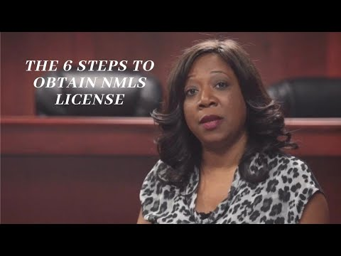 Explanation of the 6 Steps to Obtain NMLS License - YouTube