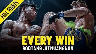 Every Rodtang Jitmuangnon Win | ONE Full Fights