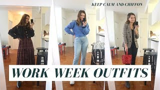 WORK OUTFIT IDEAS FALL 2019 - CASUAL WORK OUTFITS FOR NYC