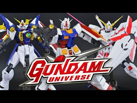 Gundam Universe Wave 1 Review!
