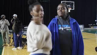 Student intern video of WIAA Hardwood Classic