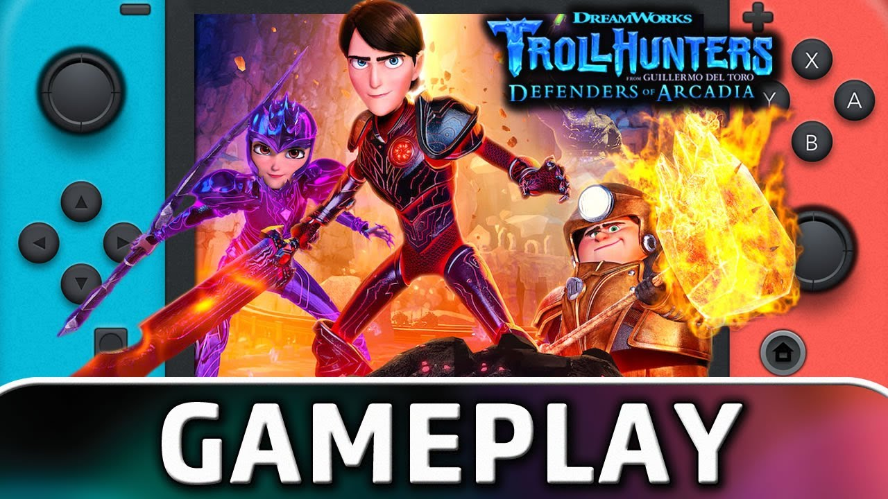 Trollhunters: Defenders of Arcadia   First 50 Minutes on Nintendo Switch