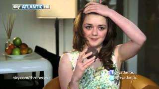 maisie williams (arya stark) || best moments