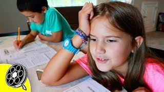 First Day Of 3rd Grade Homeschooling!