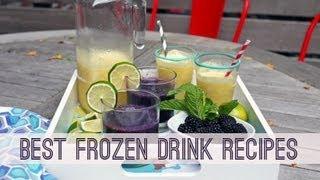 Best Frozen Summer Drink Recipes (Cocktails & Mocktails, Too!)