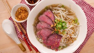 Thai Beef Noodle Soup ก๋วยเตี๋ยวเนื้อน้ําใส   Thai Recipes