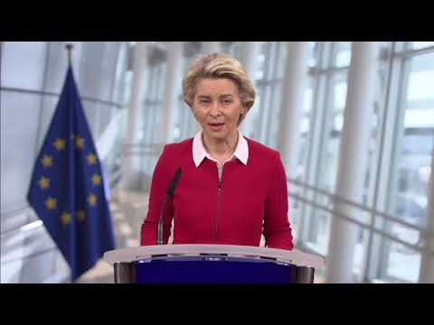 Δήλωση Προέδου της ΕΕ κ. Ούρσουλα φον ντερ Λάιεν | κλινική δοκιμή για εμβόλια από Pfizer, BioNTech