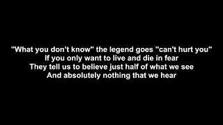 Megadeth   Dystopia With Lyrics