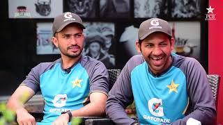 Tum Mein Aik Cup Chai Aur Cricket   Wasim Akram, Sarfaraz Ahmed & Muhammad Nawaz   PAKvSL 2019