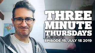 3 MINUTE THURSDAYS: Week Of Truth NY, Beyond Burger Not Vegan?