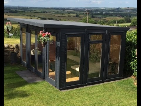 The New Design of Fully Insulated EcoSuite Garden Room Delivered and Installed Free