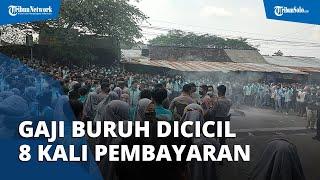 Gaji dan THR Dicicil 8 Kali, Ribuan Buruh Pan Brothers Boyolali Demo, Kecewa pada Kebijakan Pabrik