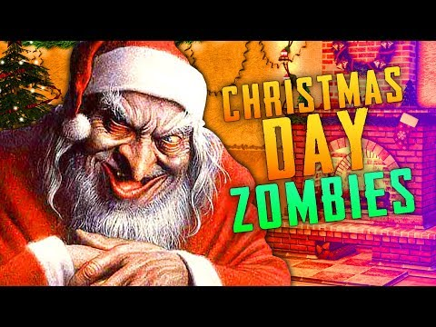 CHRISTMAS DAY ZOMBIE SURPRISE (Call of Duty Zombies)