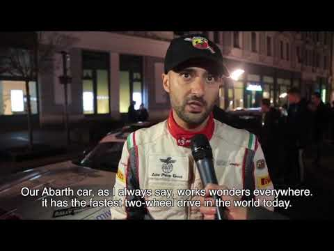Rally Hungary ERC - Interview with Andrea Nucita