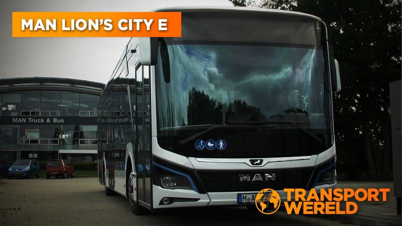 MAN Lion's City E – Elektrisch openbaar vervoer