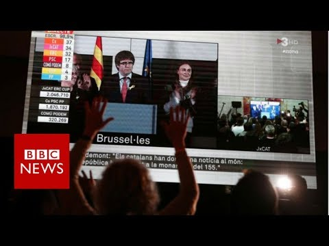 Catalonia election: Puigdemont calls for talks with Spain – BBC News
