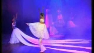 Chandana  Dancers' Guild Performs Kanya Rhythmic Motion - Gods in White