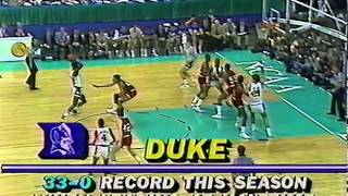 1986 NCAA Championship Game - Louisville vs Duke - Full Game