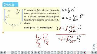 Eğitim Vadisi 11.Sınıf Fizik 19.Föy Düzgün Elektrik Alan ve Sığa Konu Anlatım Videoları