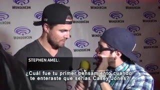 """Entrevista a Stephen Amell """"Casey Jones"""""""