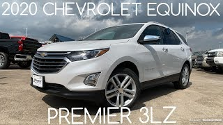 2020 Chevrolet Equinox Premier 2.0T: Startup & Review