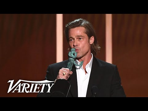 "Brad Pitt: ""Queentin has separated more women from their shoes than the TSA."""