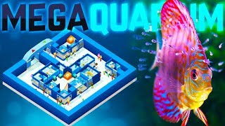 Megaquarium - The Fishkeeping Tycoon Game - Building The Perfect Aquarium - Megaquarium Gameplay