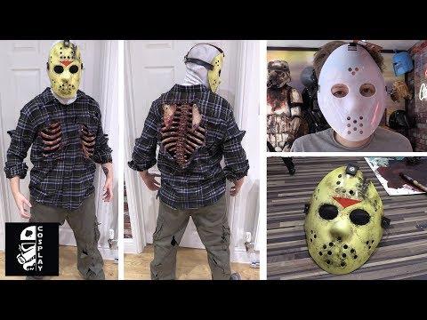 Halloween JASON VORHEES dipinto Maschera Da Hockey Venerdì Costume Accessorio 13th