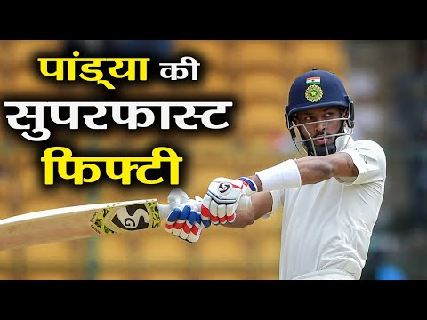 India Vs England 3rd Test: Hardik Pandya slams Superfast Fifty off 50 balls | वनइंडिया हिंदी